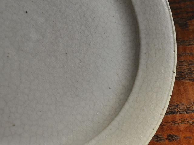 失透釉六寸リム皿-3