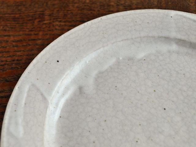 失透釉六寸リム皿-4