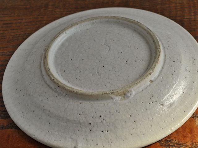 失透釉六寸リム皿-6