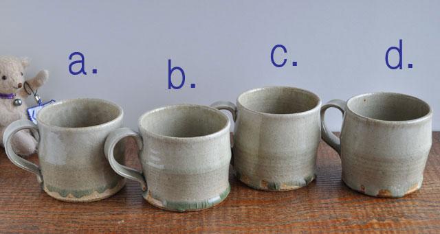 ビードロ釉マグカップ-8b