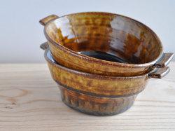 アメ釉スープカップ-6