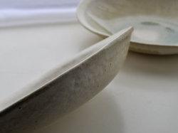 ビードロ釉オーバル鉢-4