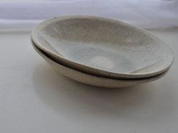 ビードロ釉オーバル鉢-8