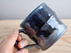 ルリ釉マグカップ-3